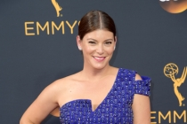 Gail Simmons on the red carpet at the 2016 Primetime Emmys.