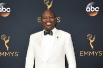 Tituss Burgess arrives on the red carpet a t the 2016 Primetime Emmys.