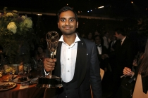 Aziz Ansari at the 68th Emmys Governors Ball.