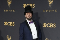 Chris Sullivan on the red carpet at the 69th Primetime Emmy Awards