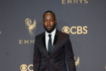 Lamorne Morris on the red carpet at the 69th Primetime Emmy Awards