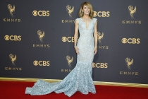Felicity Huffman on the red carpet at the 69th Primetime Emmy Awards