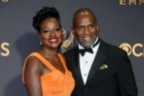 Viola Davis and Julius Tennon arrive at the 69th Primetime Emmy Awards