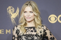 Michelle Pfeiffer on the red carpet at the 2017 Primetime Emmys.
