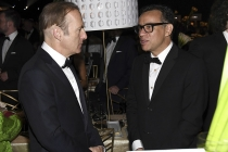 Bob Odenkirk and Fred Armisen at the 69th Emmys Governors Ball.