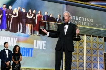Don Roy King accepts his award at the 2017 Primetime Emmys