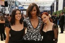 Nina Kiri, Amanda Brugel and Madeline Brewer