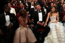 Sterling K. Brown, Michelle Bathe, Justin Timberlake and Jessica Biel