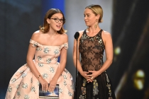 Millie Bobby Brown and Emilia Clarke