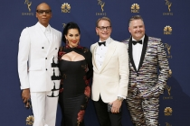 RuPaul Charles, Michelle Visage, Carson Kressley and Ross Mathews