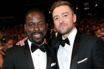 Sterling K. Brown and Justin Timberlake