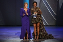 Samantha Bee and Taraji P. Henson