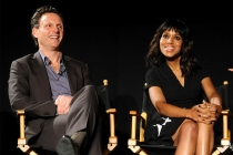 Tony Goldwyn and Kerry Washington at An Evening with Shonda Rhimes and Friends.