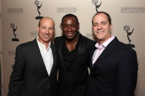 Howard Gordon, David Harewood and David Nevins at An Evening with Homeland.