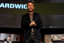 Moderator Chris Hardwick at An Evening with The Walking Dead.