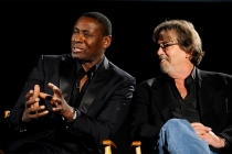 Actor David Harewood and consulting producer Henry Bromell at An Evening with Homeland.