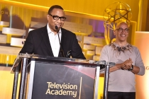 Television Academy governors Hayma Washington and Rickey Minor at the Television Academy's Dynamic and Diverse event, August 25, 2016, at the Saban Media Center, North Hollywood, California.