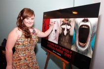 Jamie Brewer at An Evening with the Women of American Horror Story in Hollywood, California.