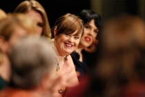 Jamie Brewer onstage at An Evening with the Women of American Horror Story in Hollywood, California.