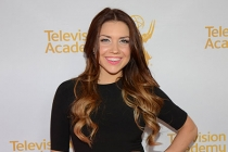 Jenna Johnson arrives at the Choreographers Nominee Reception in North Hollywood, California.