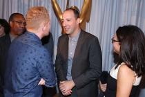 Joe Morton, Jesse Tyler Ferguson, Tony Hale and Julia Louis-Dreyfus at the Performers Peer Group nominee reception.
