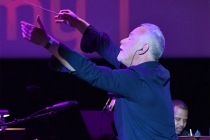 John Debney conducts the orchestra at WORDS + MUSIC, presented Thursday, June 29, 2017 at the Television Academy's Wolf Theatre at the Saban Media Center in North Hollywood, California.