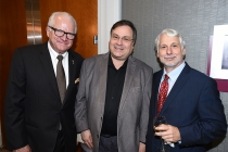 John Leverence, SVP Awards, Television Academy, with Television Academy governors Bob Boden, and Stuart Bass at the 69th Engineering Emmy Awards at the Loews Hollywood Hotel on Wednesday, October 25, 2017 in Hollywood, California.