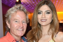 John Savage and Bianca Blanco at the Television Academy's Dynamic and Diverse event, August 25, 2016, at the Saban Media Center, North Hollywood, California.