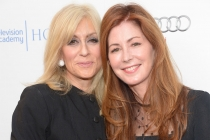 Judith Light and Dana Delaney arrive at the Eighth Annual Television Academy Honors, May 27 at the Montage Beverly Hills.