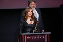 Karla Denisse Amezola at the L.A. Area Emmy Awards presented at the Television Academy's Wolf Theatre at the Saban Media Center on Saturday, July 22, 2017, in North Hollywood, California.