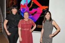 """Television Academy governors Kathryn Burns, Mandy Moore, and Gail Mancuso at """"Whose Dance Is It Anyway?"""" February 16, 2017, at the Saban Media Center in North Nollywood, California."""