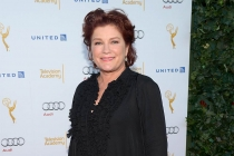 Kate Mulgrew arrives at the Performers Peer Group nominee reception in West Hollywood.