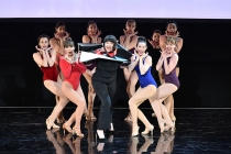 """Choreography by Television Academy governor Kathryn Burns at """"Whose Dance Is It Anyway?"""" February 16, 2017, at the Saban Media Center in North Nollywood, California."""
