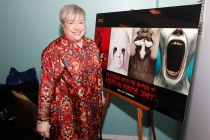 Kathy Bates at An Evening with the Women of American Horror Story in Hollywood, California.