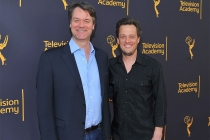 Kevin Murphy and Nathan Barr at WORDS + MUSIC, presented Thursday, June 29, 2017 at the Television Academy's Wolf Theatre at the Saban Media Center in North Hollywood, California.