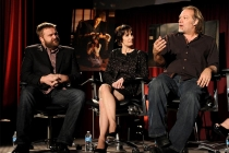 Robert Kirkman, Gail Ann Hurd and Greg Nicotero at An Evening with The Walking Dead.