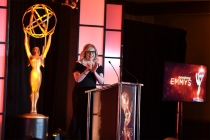 Host Kirsten Vangsness at the 68th Engineering Emmy Awards, October 28, 2016 at Loews Hollywood Hotel in Los Angeles, California.