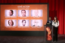 Anthony Anderson and Lauren Graham announce the nominees for Lead Actor in a Comedy in the Wolf Theatre at the Saban Media Center, North Hollywood, California on July 14, 2016.
