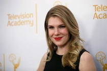 Lily Rabe arrives at An Evening with the Women of American Horror Story in Hollywood, California.