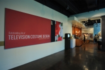 The lobby of the FIDM Museum & Galleries at The 9th Annual Outstanding Art of Television Costume Design Exhibition at the FIDM Museum & Galleries, Saturday, July 18, 2015, in Los Angeles.