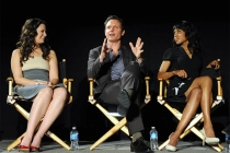 Katie Lowes, Tony Goldwyn and Kerry Washington at An Evening with Shonda Rhimes and Friends.