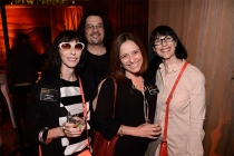 Lynda Kahn, Russell Calabrese, Sharon Leiblein and Ellen Kahn at the Animation and Children's Programming Nominee Reception in North Hollywood, California.