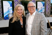 Lynn Roth and John Shaffner at the 2017 Television Academy Honors at the Montage Hotel on Thursday, June 8, 2017, in Beverly Hills, California.