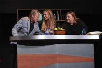 Nigel Lythgoe, Cat Deeley, and Gail Berman at Mike Darnell: Reality TV's Great Provocateur at the Saban Media Center in North Hollywood, California, March 29, 2017.