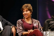 Marla Gibbs onstage at An Evening with Norman Lear at the Montalban Theater in Hollywood.