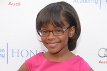 Marsai Martin of black-ish arrives at the Eighth Annual Television Academy Honors, May 27 at the Montage Beverly Hills.