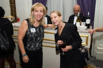 Maryanne Melloan and Harriet Helberg at Networking Night Out NYC! at the St. Regis Hotel in New York City, June 12, 2015.