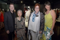 Television Academy president and COO Maury McIntyre, Mary Rose, and Television Academy governors Sue Bub and Terry Ann Gordon at The 9th Annual Outstanding Art of Television Costume Design Exhibition at the FIDM Museum & Galleries, Saturday, July 18, 2015