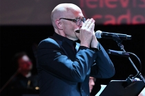 Television Academy governor Michael A. Levine performs at WORDS + MUSIC, presented Thursday, June 29, 2017 at the Television Academy's Wolf Theatre at the Saban Media Center in North Hollywood, California.