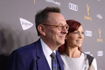 Michael Emerson and Carrie Preston at the Performers Nominee Reception, September 16, 2016 at the Pacific Design Center, West Hollywood, California.